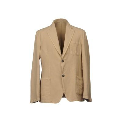 マッシモ・アルバ MASSIMO ALBA テーラードジャケット サンド 56 麻 60% / コットン 40% テーラードジャケット