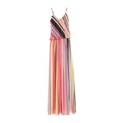 ALESSANDRO LEGORA ロングワンピース&ドレス レッド 40 ポリエステル 100% ロングワンピース&ドレス