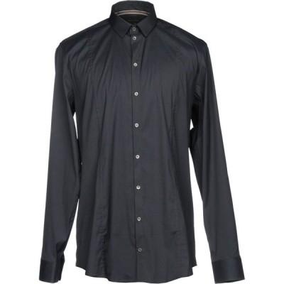 パトリツィア ペペ PATRIZIA PEPE メンズ シャツ トップス Solid Color Shirt Steel grey