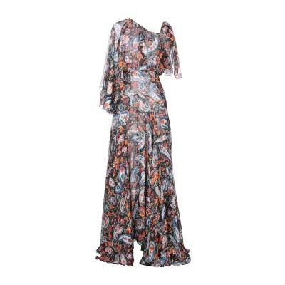 ØUD. Paris ロングワンピース&ドレス ブラック S シルク 100% ロングワンピース&ドレス