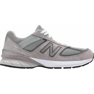 ニューバランス メンズ スニーカー シューズ New Balance Men's M990V5 Shoes Grey/White