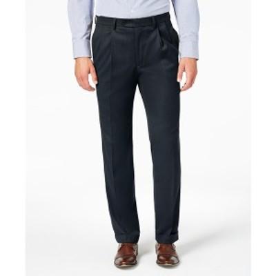 ラルフローレン メンズ カジュアルパンツ ボトムス Men's Classic-Fit UltraFlex Stretch Micro-Twill Pleated Dress Pants Navy