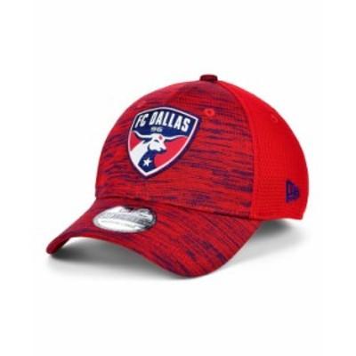 ニューエラ メンズ 帽子 アクセサリー FC Dallas 2020 On-field 39THIRTY Cap Red