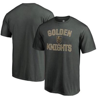 Vegas Golden Knights Fanatics Branded Team Victory Arch T-シャツ - Gray