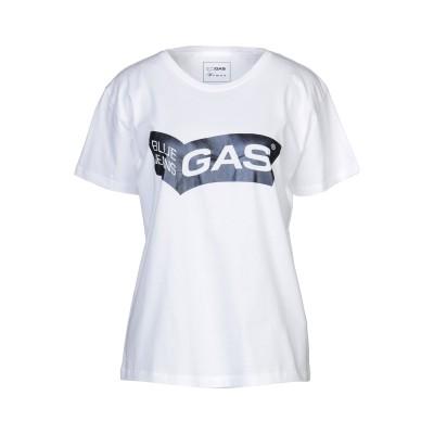 GAS T シャツ ホワイト XS コットン 100% T シャツ