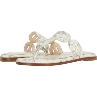 コールハーン Cole Haan レディース ビーチサンダル シューズ・靴 Anoushka Sandal Natural Chalk Python Print Leather/Natural Heavy Stitch