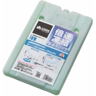 ロゴス(LOGOS) 保冷剤 倍速凍結・氷点下パックL 長時間保冷 81660641
