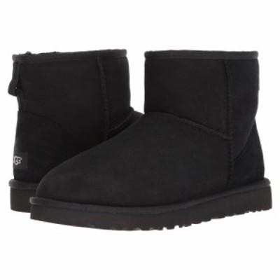 アグ UGG メンズ ブーツ シューズ・靴 Classic Mini Black Twinface