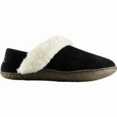 ソレル スリッパ Nakiska Slipper II Black/Natural Suede