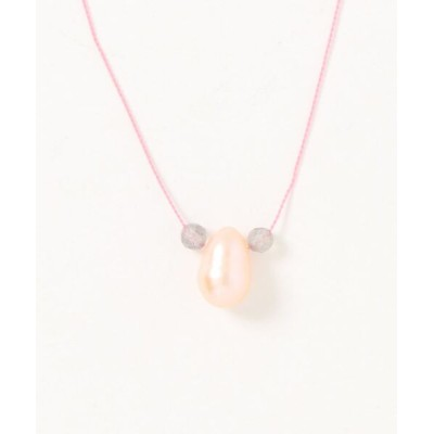 TONE / 【V&SSS】ラブラドライト、天然パール & sv925 animal necklace WOMEN アクセサリー > ネックレス