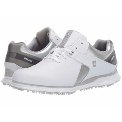 フットジョイ スニーカー シューズ レディース Pro SL White/Silver/Grey