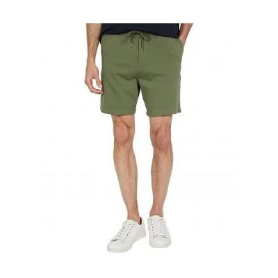 "Threads 4 Thought スレッドフォーソート メンズ 男性用 ファッション ショートパンツ 短パン Terence 6.5"" Knit Shorts - Army"