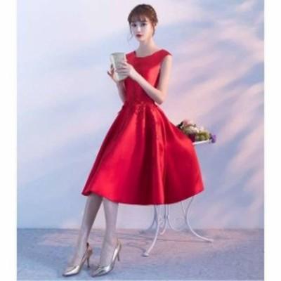 デート パーティードレス 結婚式 二次会 ワンピース 結婚式 お呼ばれドレス ドレス 結婚式 お呼ばれ 20代 30代 40代 ノースリーブ