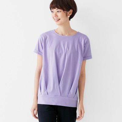 一枚でコーデOK! Tシャツ素材の汗じみ対策チュニックの会 フラウグラット フェリシモ FELISSIMO