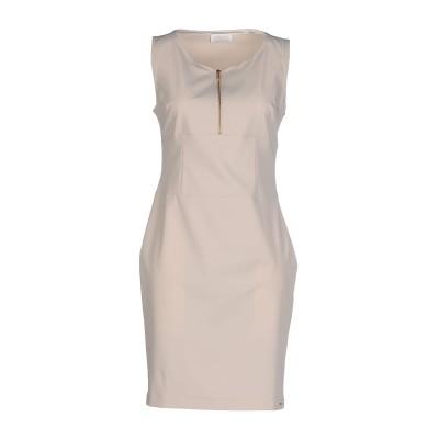 DEKKER ミニワンピース&ドレス アイボリー 48 ポリエステル 95% / ポリウレタン 5% ミニワンピース&ドレス