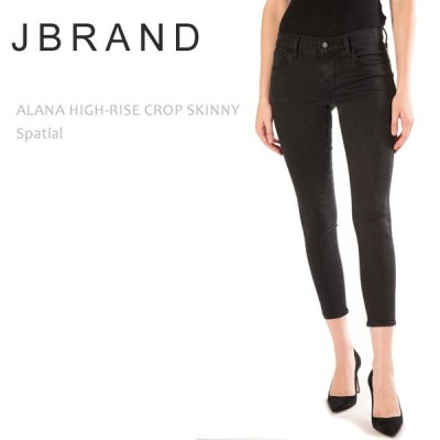 【SALE】【30%OFF】 J Brand ジェイブランド ALANA HIGH RISE CROPPED SKINNY Spatial