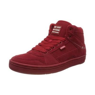 全国送料無料 Etnies メンズ Mc Rap ハイスニーカー スケートシューズ US サイズ: 9 カラー: レッド新品