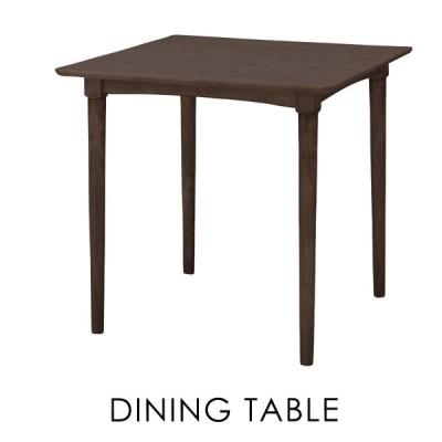 ダイニングテーブル 幅75cm 2人用 おしゃれ 木製 食卓机 アンティーク モダン 安い 新生活