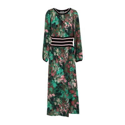 RUE•8ISQUIT ロングワンピース&ドレス グリーン 42 ポリエステル 100% ロングワンピース&ドレス