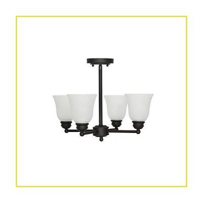 【新品 送料無料】Ravenna Home クラシック 4ライト セミフラッシュマウント ファンシーシャンデリア 4-Light