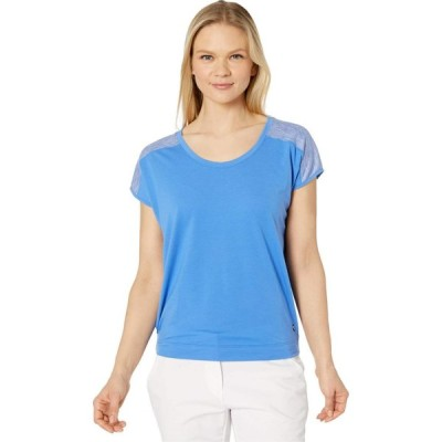 プーマ PUMA Golf レディース Tシャツ トップス Slouchy Tee Palace Blue/Palace Blue Heather