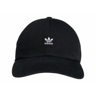 アディダスオリジナルス レディース 帽子 アクセサリー Originals Relaxed Mini Logo Black/White