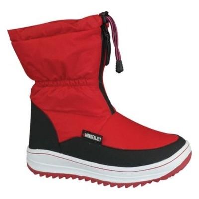 ワンダーラスト ブーツ&レインブーツ シューズ レディース Sasha Snow Boot (Women's) Red Fabric