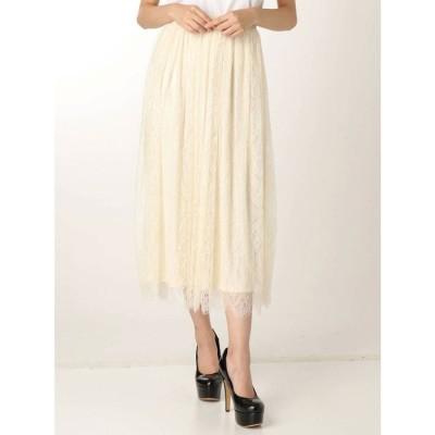 リゼクシー RESEXXY レーススカート (ホワイト)