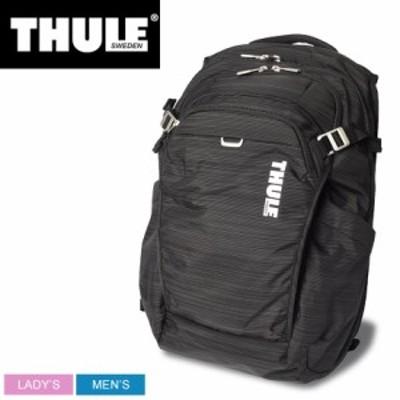 母の日 スーリー バックパック レディース メンズ CONSTRUCT BACKPACK 24L ブラック 黒 THULE CONBP116 鞄 リュック カジュアル シンプル