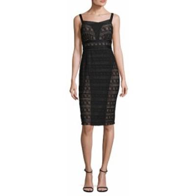 トレイシーリース レディース ワンピース Sleeveless Lace Sheath Dress