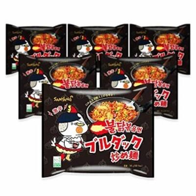 三養食品 ブルダッ炒め麺 1パック(140g×6袋入り)