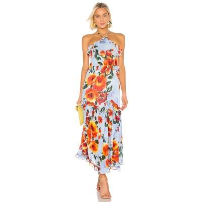 ミサロサンゼルス MISA Los Angeles レディース ワンピース ワンピース・ドレス Dallin Dress Blue Multi Floral