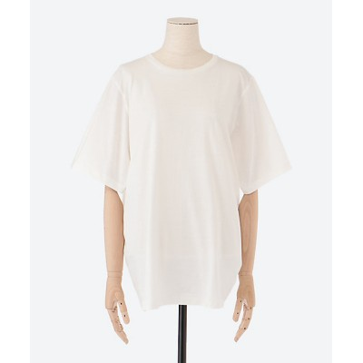 <toteme(Women)/トーテム> OVERSIZED COTTON TEE OFF WHITE【三越伊勢丹/公式】