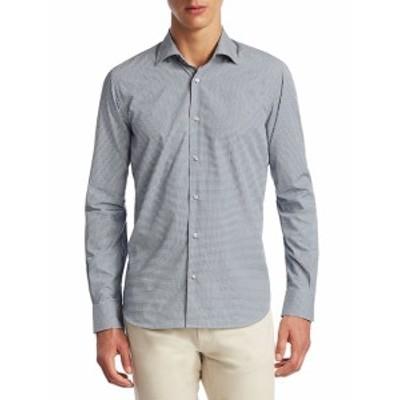 サックスフィフスアベニュー メンズ カジュアル ボタンダウンシャツ COLLECTION Cotton Button-Down Shir