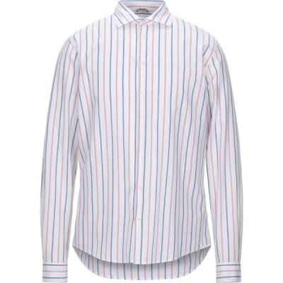 サン シックスティーエイト SUN 68 メンズ シャツ トップス Striped Shirt White