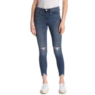 ブランクニューヨーク レディース デニムパンツ ボトムス Distressed Skinny Jeans NO TIME FOR DAT