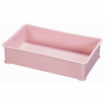 サンコー PP特大カラー番重 B型 ピンク ABV8706