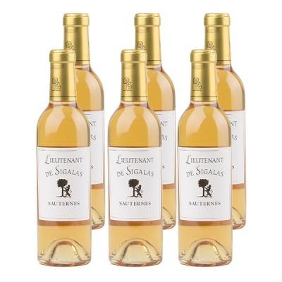 白ワインセット 甘口 フランス ボルドー / ソーテルヌ リューテノン・ドゥ・シガラ・ラボー 2009 375ml 6本
