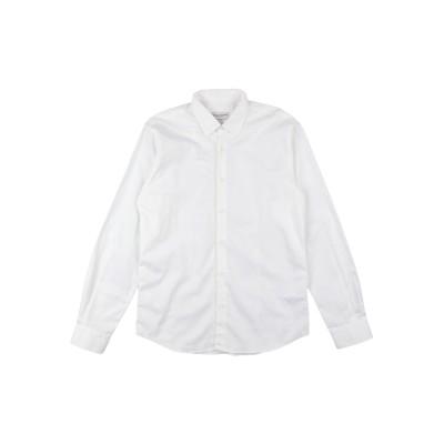 パオロ ペコラ PAOLO PECORA シャツ ホワイト 10 コットン 100% シャツ