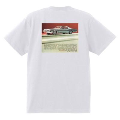 アドバタイジング オールズモビル 576 白 Tシャツ 黒地へ変更可能 1965 カトラス ビスタ トロネード 98 88 デルタ ホットロッド ローライダー