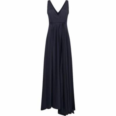 フレンチコネクション French Connection レディース ワンピース マキシ丈 ワンピース・ドレス Graci Drape Maxi Dress Utility Blue