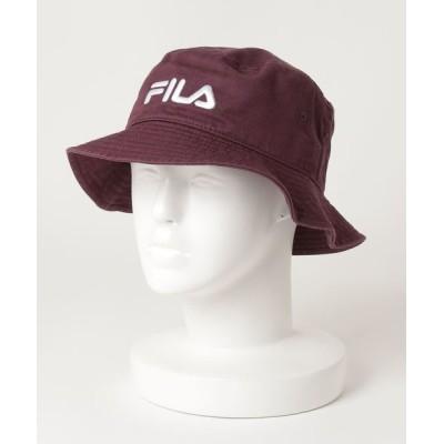 A BAG OF CHIPS / FILA/フィラ コットンバケットハット MEN 帽子 > ハット