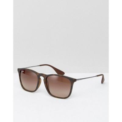 レイバン レディース サングラス&アイウェア アクセサリー Ray-Ban Keyhole Wayfarer sunglasses 0rb4187 Brown