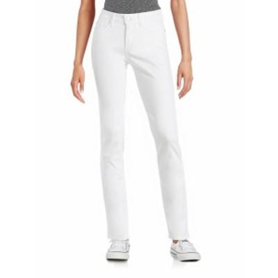 レディース パンツ デニム Straight-Leg Jeans