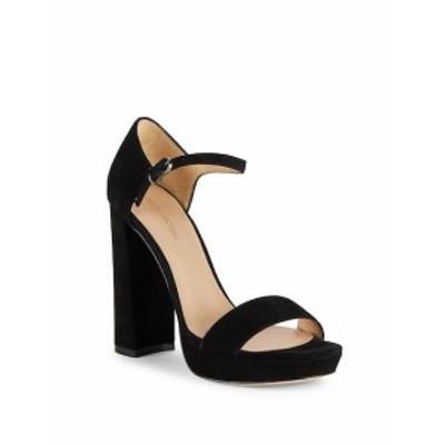ポー ラ ビクトレー レディース シューズ サンダル Yvette Block-Heel Leather Sandals