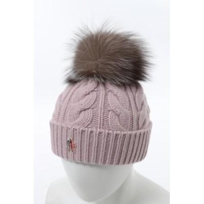 モンクレールグルノーブル MONCLER GRENOBLE ニットキャップ ニット帽 ピンク (3B70201 A0069) 送料無料 2020年秋冬新作 2020AW_SALE