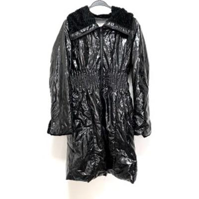スペッチオ SPECCHIO ダウンコート サイズ40 M レディース 美品 - 黒 長袖/冬【中古】20210319
