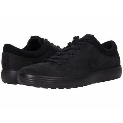 エコー メンズ スニーカー シューズ Soft 7 Sneaker 2.0 Black/Black/Bla