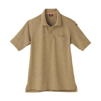 バートル(BURTLE) 作業服 半袖ポロシャツ メンズ レディース 24/キャメル 507 作業着 ワークウエア 仕事着 まとめ買い ユニセックス