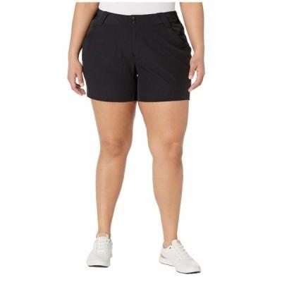 コロンビア ハーフ&ショーツ ボトムス レディース Plus Size Coral Point III Shorts Black